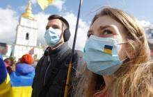 В Украине обновилось распределение на карантинные зоны: Киев отмечен оранжевым цветом