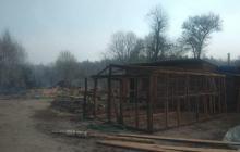 Мощный пожар в Житомирской области перекинулся на села: cитуация очень сложная, людей эвакуируют