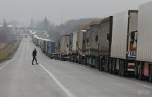 Россия вновь организовала скопление более 100 фур на границе с Украиной