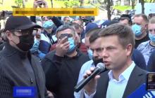 "Протестующих у Кабмина поддержал нардеп Гончаренко: ""слугам"" все, а народу ничего"
