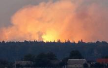 Под Воронежем горит и взрывается полигон с боеприпасами армии РФ, ничего сделать не могут - подробности