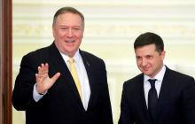 """""""Я поблагодарил его"""", - глава Госдепа США Помпео рассказал, о чем говорил с Зеленским"""