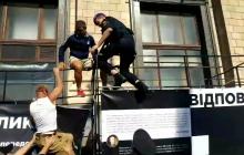 На Марше Достоинства полиция жестоко обошлась с военным: инцидент попал на видео