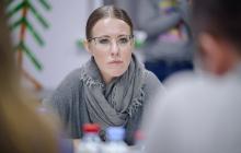 Стала известна цель приезда Ксении Собчак в Украину - кадры