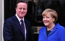 Кэмерон и Меркель проведут переговоры в Лондоне: кризис в Украине и полная повестка встречи
