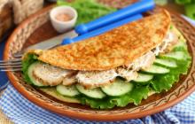 Готовим ПП завтрак - овсяноблин: рецепт и ТОП-3 начинки на любой вкус