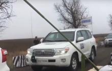 Начало разведения сил в Петровском: ОБСЕ уже прибыли на участок - видео
