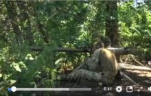 ВСУ громят российских наемников из СПГ под Новозвановкой: видео двойного залпа - ДОТ оккупантов взлетел на воздух