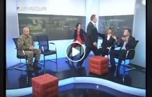 Депутатская драка в эфире: Барна набросился на Левченко, когда ему напомнили о пьяном ДТП с трамваем, – кадры
