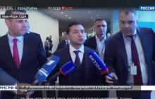 Журналист Попов начал заикаться и бежать за Зеленским