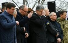 Порошенко с тысячами украинцев в Киеве вознес молитву за будущее Украины: мощные кадры