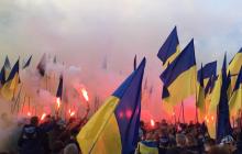 Крещатик погрузился в черный дым: что происходит в центре Киева