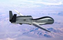 Рядом с Крымом пронеслась военная авиация США - наблюдение вел RQ-4 Global Hawk