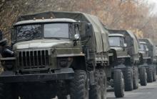 """Враг готовится: местные жители заметили БМП, """"Уралы"""" и наемников, продвигающихся в сторону Дебальцево"""