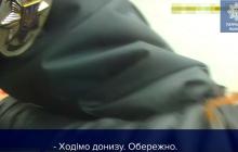 Спасение полицейскими 14-летней девочки в Славянске попало на видео - счет шел на секунды
