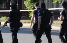 В Черкассах неизвестный захватил партийный офис и угрожает его взорвать