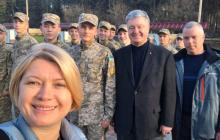 """Порошенко посетил Донбасс и поговорил с переселенцами """"без показухи"""" - кадры"""