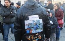 """Газпром, проваливай!"": в Грузии протестуют против газовой корпорации"