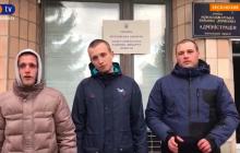 """""""Титушки"""" из Новых Санжар записали видео со своей версией о беспорядках"""