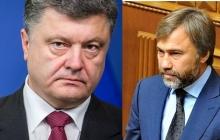 """Порошенко рассказал о тайной встрече с Новинским: депутат """"оппоблока"""" получил жесткое предупреждение по церкви"""