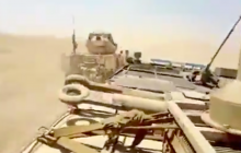 """В Сирии """"гонка"""" войск США и России на броневиках попала на видео - ситуация была на грани"""