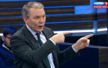 Депутат Госдумы Калашников отметился неадекватными угрозами в адрес Украины и Грузии в эфире у Скабеевой