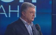 """Три телеканала в срочном порядке включили выступление Порошенко во время марафона """"Стоп реванш!"""" - видео"""