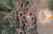 Фотоснимки Google Maps позволили открыть крушение 8-метрового НЛО под Оронгоем