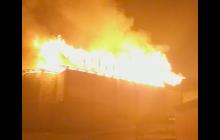 Появилось видео, как под Севастополем огонь уничтожает храм РПЦ: детали