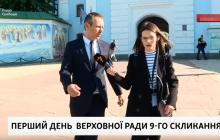 """Вакарчук пришел в Верховную Раду и рассказал о планах партии """"Голос"""""""