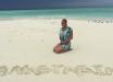 Волочкова повторила скандальное фото на Мальдивах, прикрыв тело только ракушками