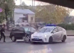 """""""Форсаж"""" на улицах Одессы: мужчина протаранил машину полиции, попал в 4 ДТП и врезался в дерево"""