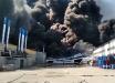 Видео мощного пожара на складе в Самаре: крыша рухнула, город затянуло черным дымом