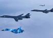 """""""МиГ-29"""" и """"Су-27"""" ВСУ составили компанию бомбардировщиками США В-1 в дальнем рейде - видео миссии"""