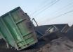 В Кривом Роге сошел с рельс грузовой поезд – перевернулись 14 вагонов с углем