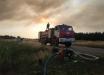В Луганской области крупный лесной пожар – эвакуированы десятки человек: огонь подобрался к домам