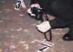 Кровь и патроны на асфальте: около 40 мужчин устроили дикую драку с ножами и оружием в Киеве - ночные кадры