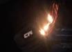 Активисты на глазах у россиян сожгли георгиевскую ленту: граждане РФ этот визит в Киев долго не забудут - фото
