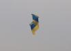 Ко дню ВСУ волонтеры запустили огромный флаг Украины в сторону Крыма: фото