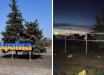 """В Станице Луганской вандал с ругательствами и угрозами поиздевался над знаком """"Украина"""": """"Я тебя об***у!"""""""