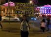 По всей Москве неожиданно прокатилась волна ряда одиночных пикетов в поддержку Украины