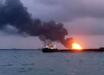 """В Азовском море горит российский танкер """"Генерал Ази Асланов"""": произошло два взрыва, на борту было 13 человек"""