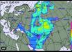 Радиоактивное облако после взрыва ракеты в России накрыло территорию Украины: какие области уже зацепило - карта