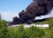 На Урале пылает воинская часть армии России - появились первые кадры мощного пожара
