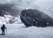 НЛО в Антарктике: археологи обнаружили большой диск в ледяных слоях - кадры