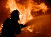 Протесты в Новых Санжарах: начались пожары и схватка Нацгвардии с протестующими, онлайн-трансляция
