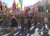Многотысячный Марш защитников Украины в Киеве: активисты не допустят капитуляции на Донбассе - видео