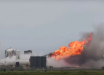 "Прототип межпланетного корабля Маска Starship взорвался спустя пару минут после ""старта"" - ЧП попало на видео"