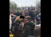 На участке Зеленского атаковала голая активистка Femen: фото, как беременная девушка разделась прямо перед толпой