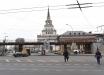 В Москве активисты вывесили громадный баннер с изображением Олега Сенцова